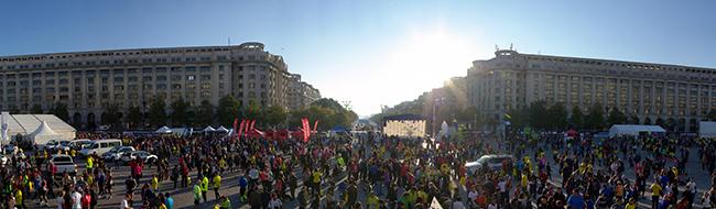 Vedere din Piata Constitutiei (© PhotoRun - by Bucharest Running Club)