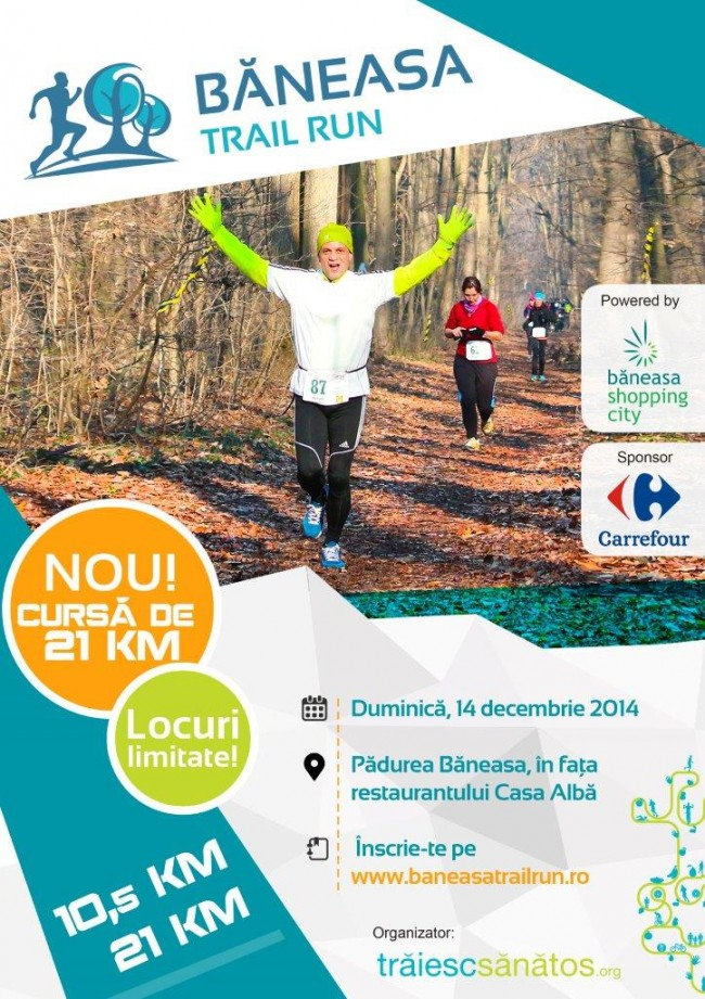 Afis Baneasa Trail Run